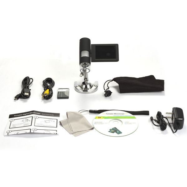 UM039-LCD Digital Microscope Portable Accessories
